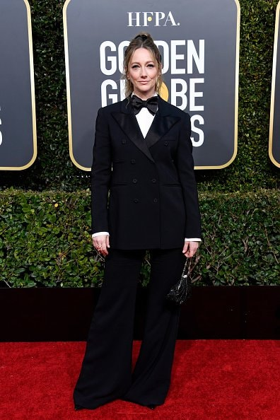 BEVERLY HILLS, CA - JANUARY 06:  Judy Greer attends the 76th Annual Golden Globe Awards at The Beverly Hilton Hotel on January 6, 2019 in Beverly Hills, California.  (Photo by Frazer Harrison/Getty Images)