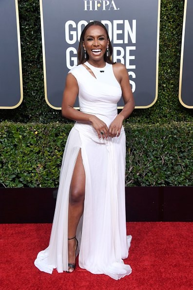 BEVERLY HILLS, CA - JANUARY 06:  Janet Mock attends the 76th Annual Golden Globe Awards at The Beverly Hilton Hotel on January 6, 2019 in Beverly Hills, California.  (Photo by Frazer Harrison/Getty Images)