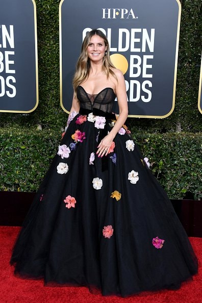 BEVERLY HILLS, CA - JANUARY 06:  Heidi Klum attends the 76th Annual Golden Globe Awards at The Beverly Hilton Hotel on January 6, 2019 in Beverly Hills, California.  (Photo by Jon Kopaloff/Getty Images)