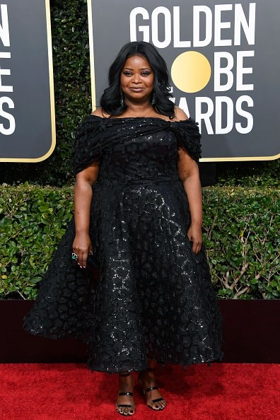 BEVERLY HILLS, CA - JANUARY 06:  Octavia Spencer attends the 76th Annual Golden Globe Awards at The Beverly Hilton Hotel on January 6, 2019 in Beverly Hills, California.  (Photo by Frazer Harrison/Getty Images)