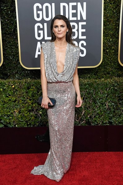 BEVERLY HILLS, CA - JANUARY 06:  Keri Russell attends the 76th Annual Golden Globe Awards at The Beverly Hilton Hotel on January 6, 2019 in Beverly Hills, California.  (Photo by Frazer Harrison/Getty Images)