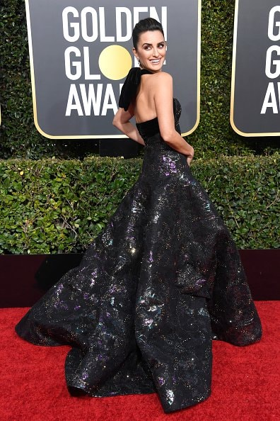 BEVERLY HILLS, CA - JANUARY 06:  Penelope Cruz attends the 76th Annual Golden Globe Awards at The Beverly Hilton Hotel on January 6, 2019 in Beverly Hills, California.  (Photo by Frazer Harrison/Getty Images)