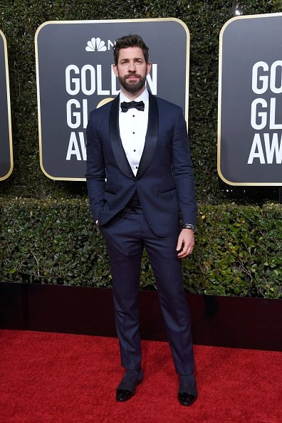 BEVERLY HILLS, CA - JANUARY 06:  John Krasinski attends the 76th Annual Golden Globe Awards at The Beverly Hilton Hotel on January 6, 2019 in Beverly Hills, California.  (Photo by Frazer Harrison/Getty Images)