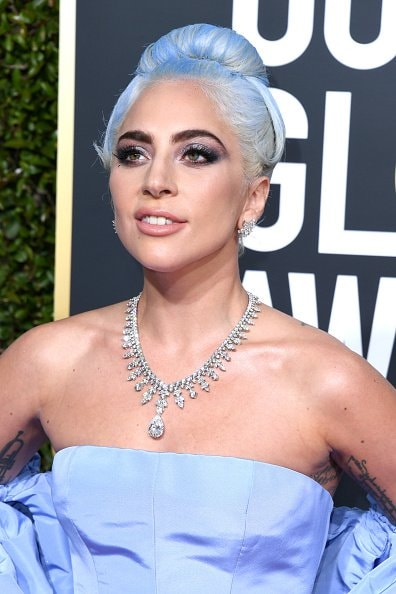 BEVERLY HILLS, CA - JANUARY 06:  Lady Gaga attends the 76th Annual Golden Globe Awards at The Beverly Hilton Hotel on January 6, 2019 in Beverly Hills, California.  (Photo by Jon Kopaloff/Getty Images)