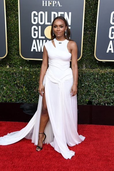 BEVERLY HILLS, CA - JANUARY 06:  Janet Mock attends the 76th Annual Golden Globe Awards at The Beverly Hilton Hotel on January 6, 2019 in Beverly Hills, California.  (Photo by Jon Kopaloff/Getty Images)